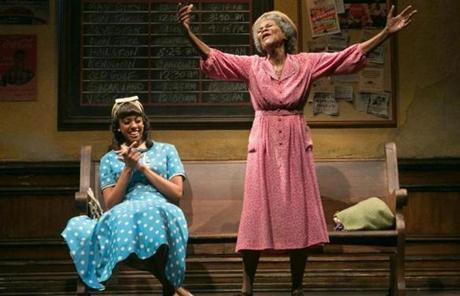 "Condola Rashad (left) in ""The Trip to Bountiful."""